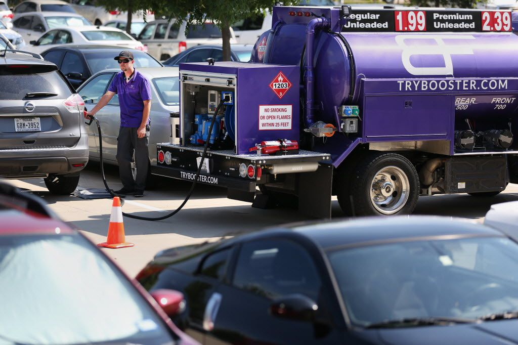 Booster Fuels Betting On An Uber Model For Gas Delivery In North Texas