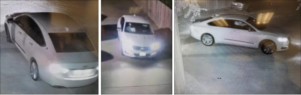Police said the shooter was driving this car, believed to be a newer-model Chevrolet Impala.