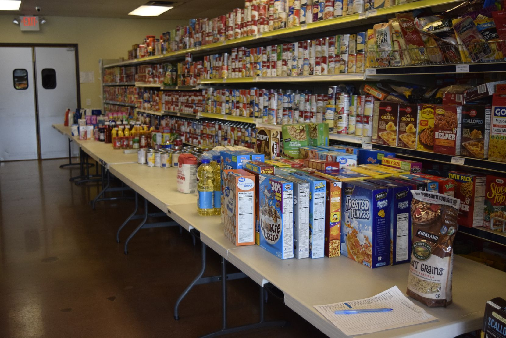 Frisco Family Services received more than 20,400 pounds of food during its annual Feed Frisco community drive.