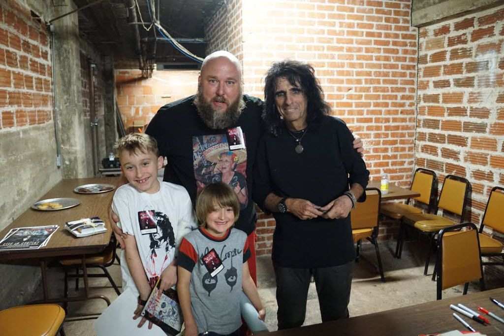 Chris Penn, his sons and the man called Alice Cooper