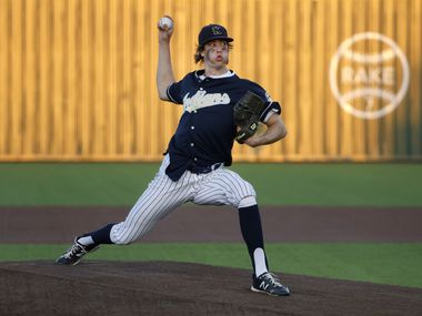 USC signee Eric Hammond and Keller will face District 4-6A rival Northwest Eaton in a best-of-3 regional quarterfinal series that begins Thursday. (Michael Ainsworth/Special Contributor)