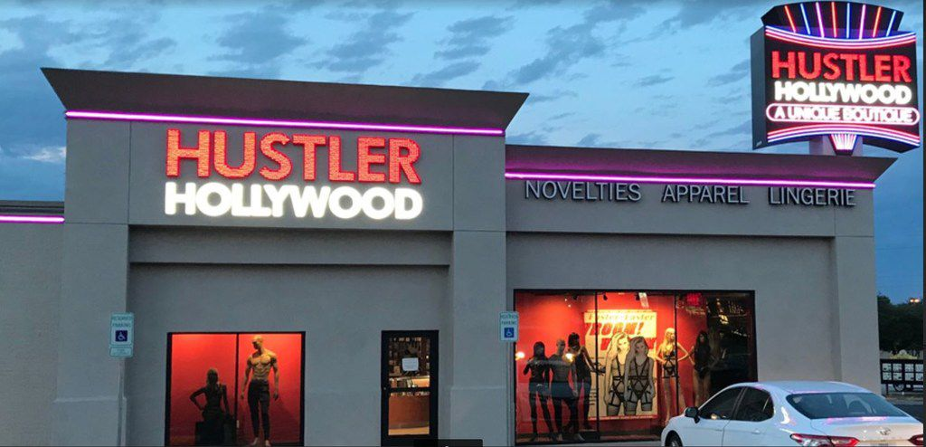 Hustler Hollywood, the sex toy store of infamous porn magazine publisher Larry Flynt, who rose to fame in the 1970s for his Hustler magazine, opened in Dallas in August. Flynt is scheduled to make an appearance at the store at 9341 Lyndon B. Johnson Freeway on Sept. 15.