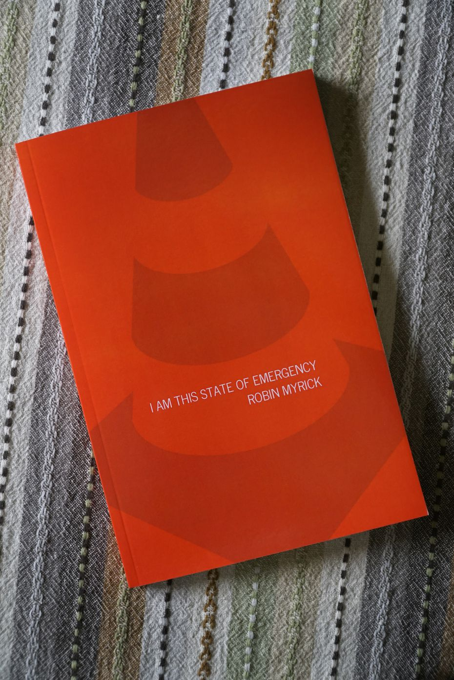 """I Am This State Of Emergency"" by Robin Myrick is the first publication from Surveyor Books."