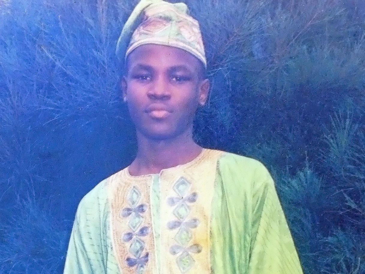 John Olajide at 14.