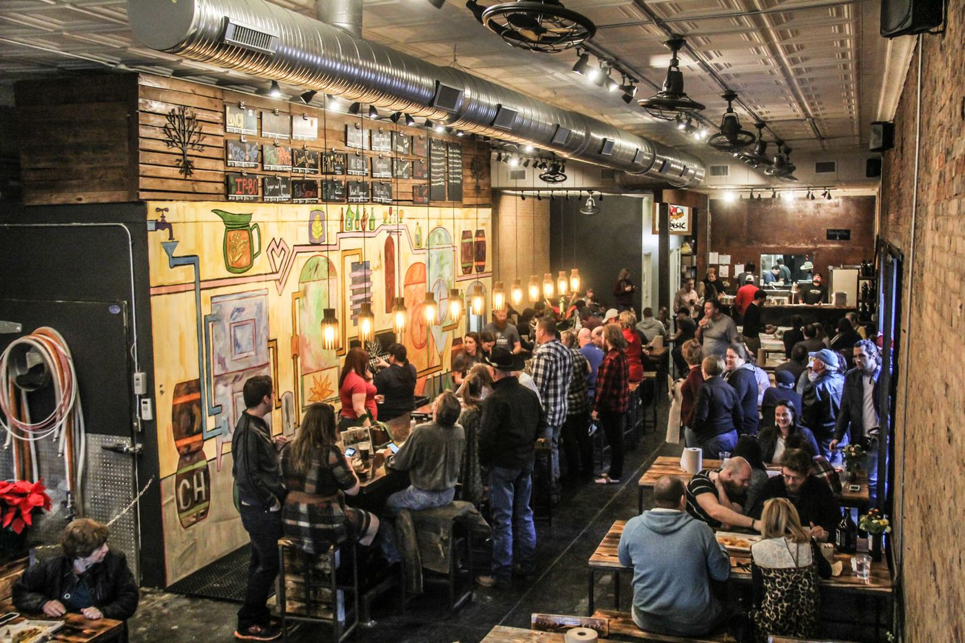 Intrinsic Smokehouse and Brewery on the square in Downtown Garland held it'€™s grand opening on December 5, 2015.