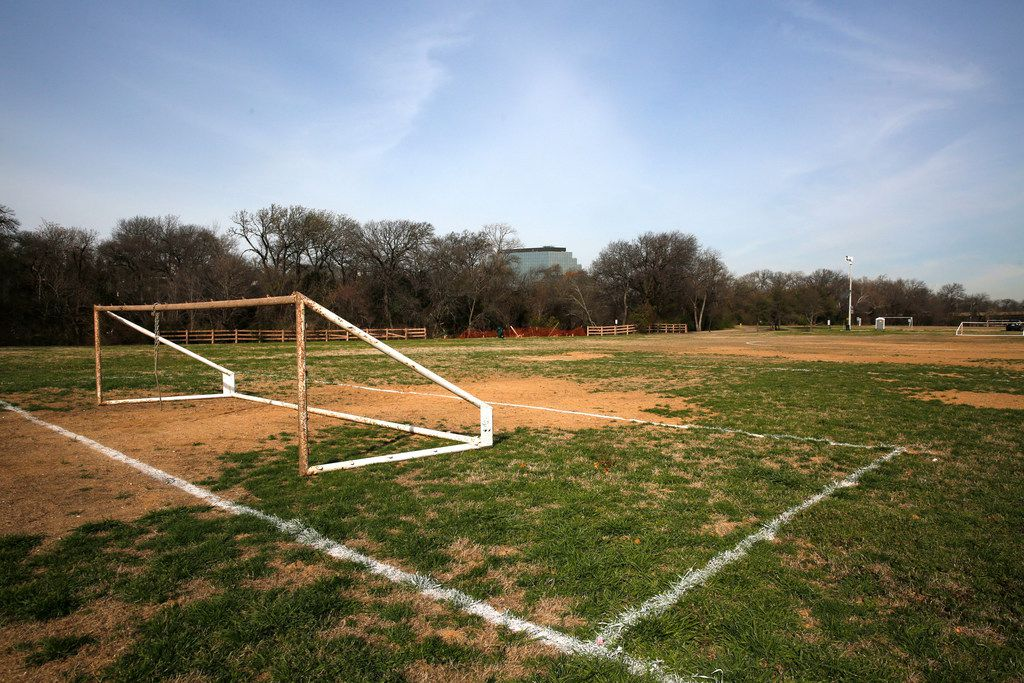 The D'Feeters Soccer Club often practiced at Anderson Bonner Park in Dallas in the 1980s.