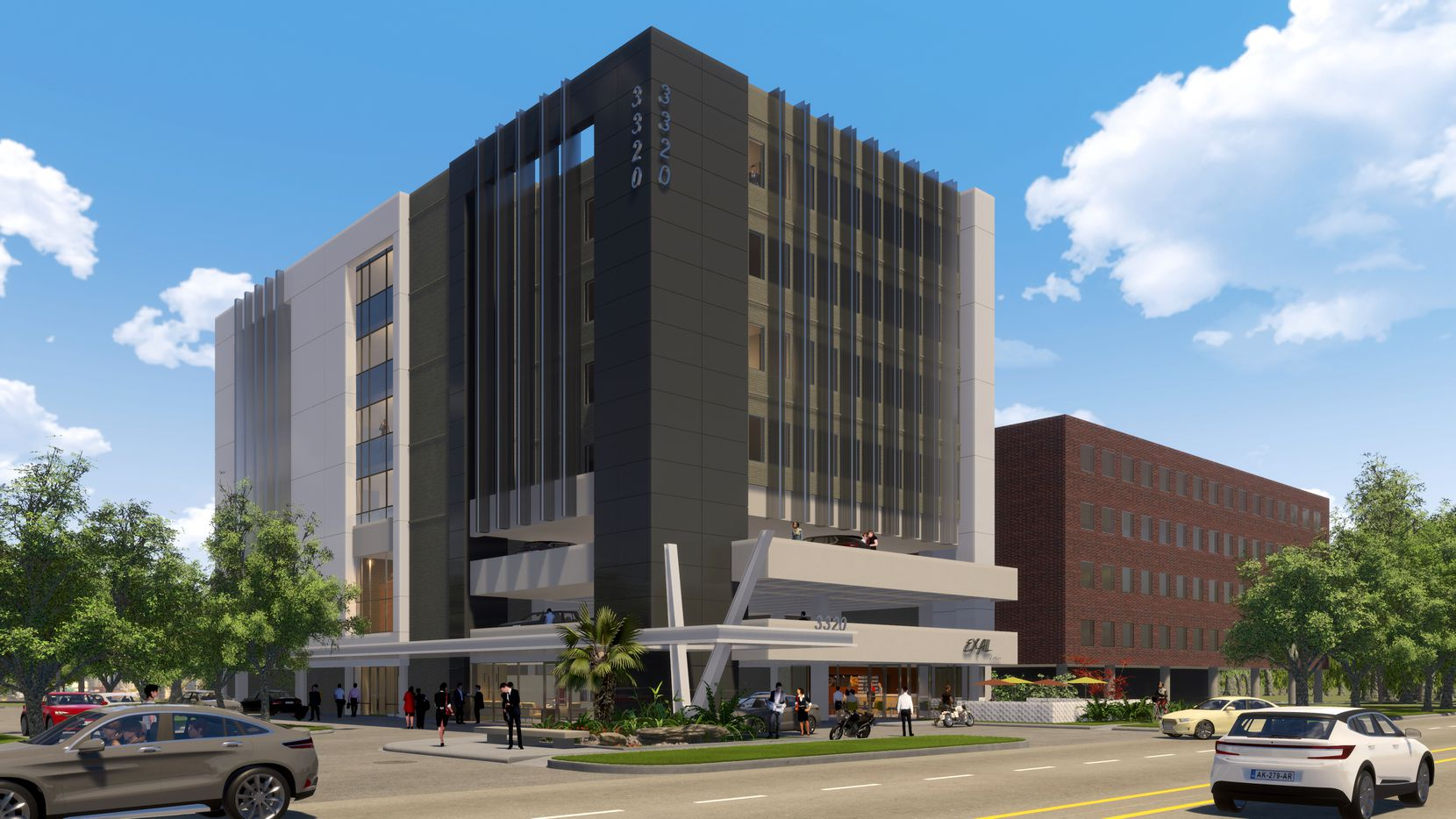 Built in the 1980s, the Live Oak Street buildings will be revamped.