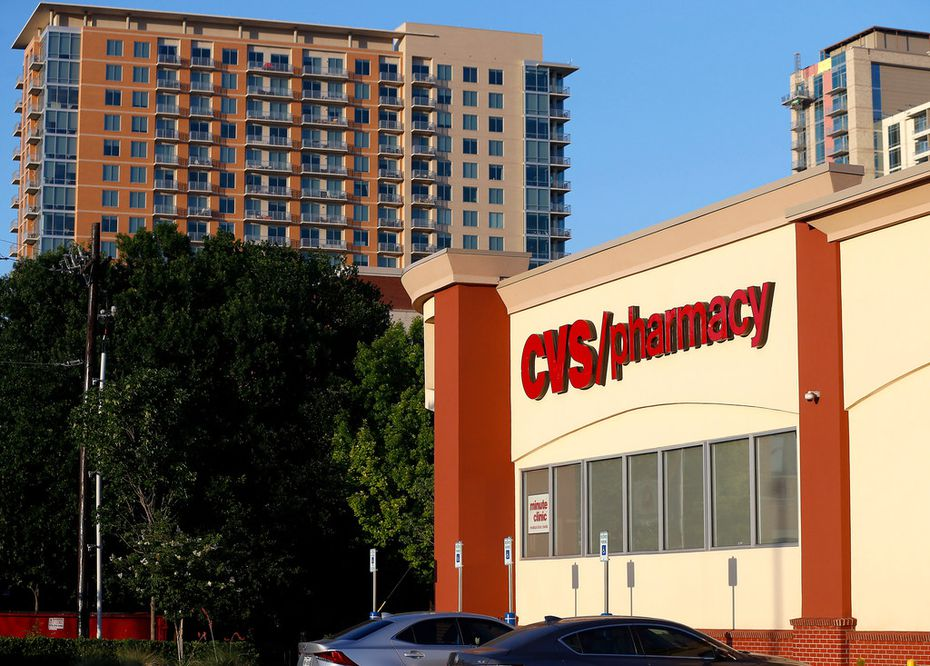 A CVS store at 3133 Lemmon Avenue East in Dallas.