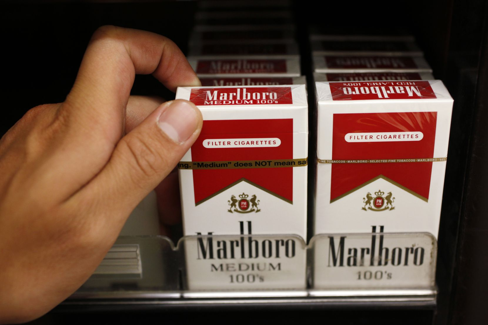 Marlboro maker Philip Morris is trying to look beyond cigarettes for its future.