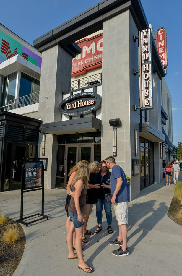 Yard House and Alamo Drafthouse Cinema near Big Beat Dallas, a music venue at the Toyota Music Factory in Las Colinas are open for business. (Robert W. Hart/Special Contributor)