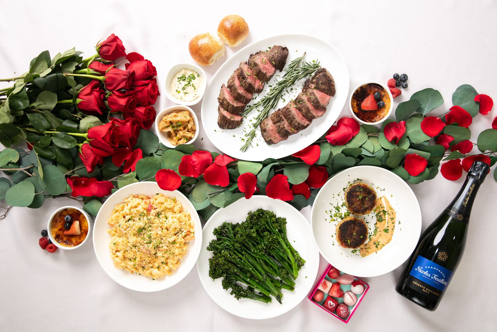 Vestals Catering offers a savory premade dinner for two this Valentine's Day.