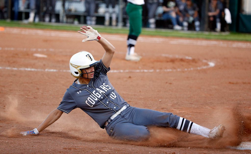 The Colony junior Jayda Coleman is on pace to break the national record for most runs scored in a career. (Michael Ainsworth/Special Contributor)