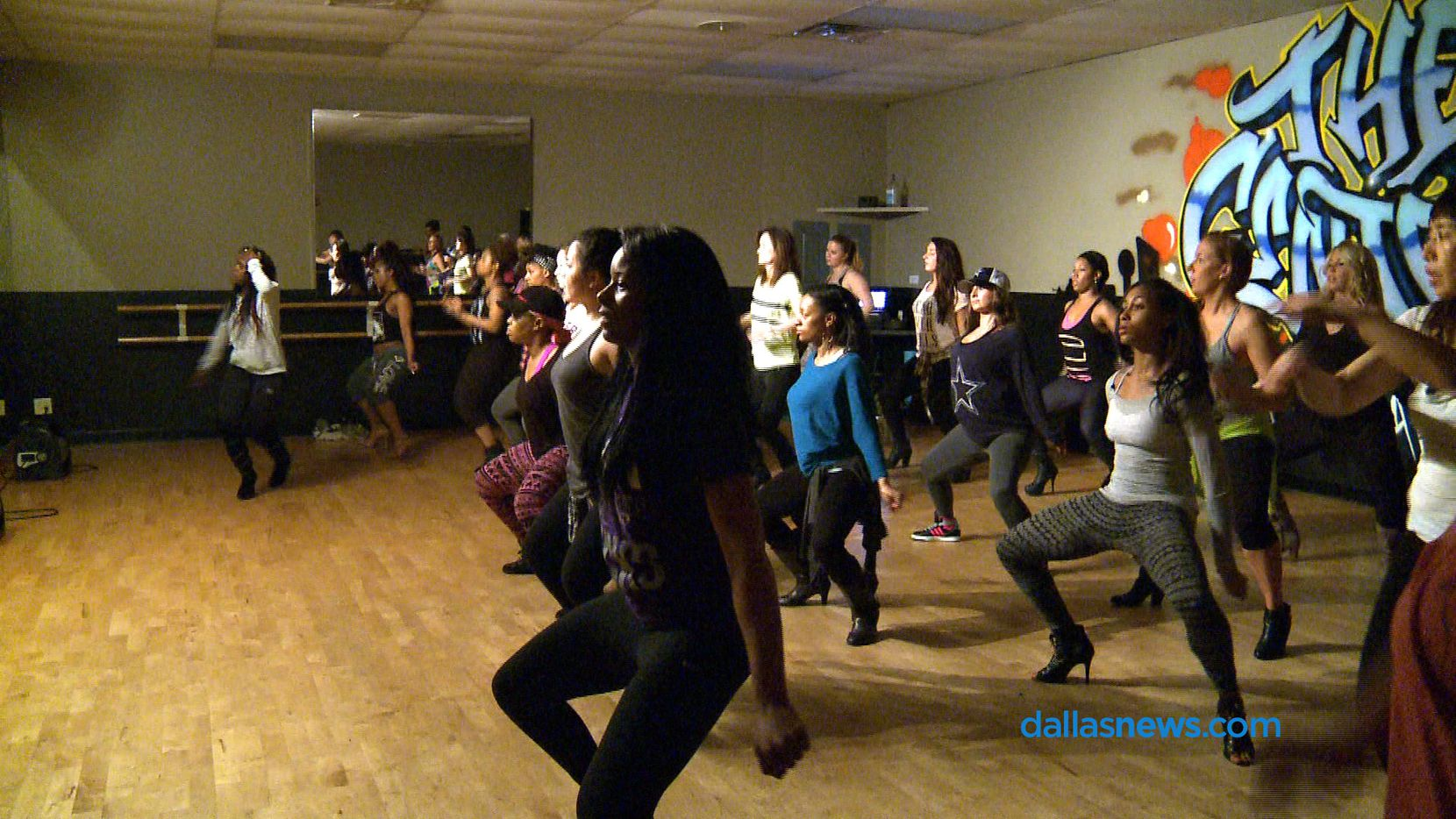 Hip Hop Heels classes are Thursday nights at Richardson's Centre for Dance.