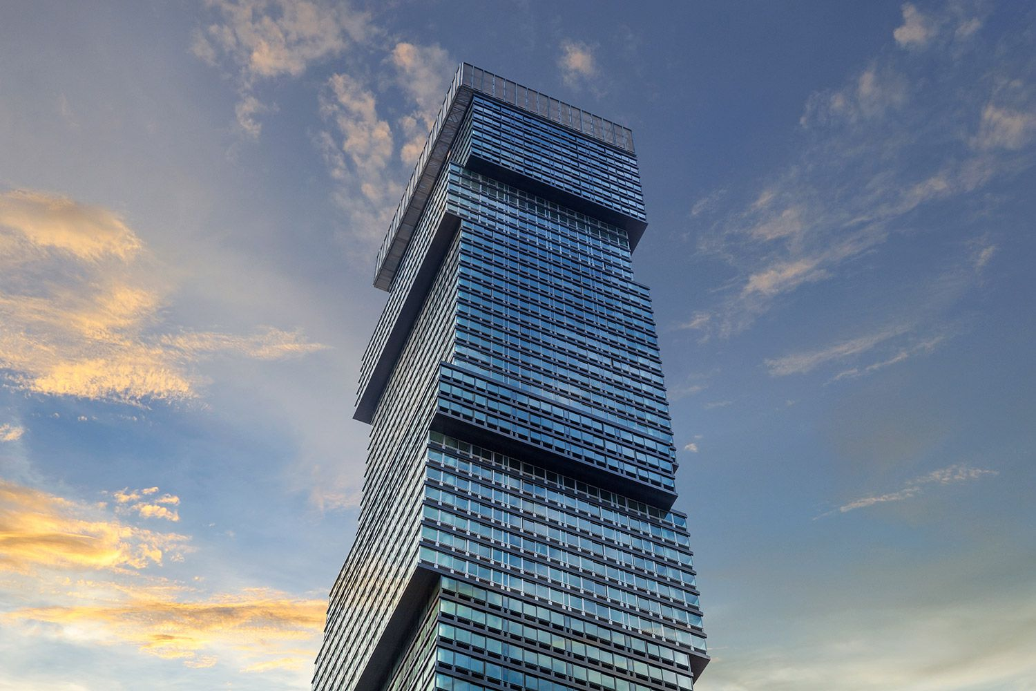 Urby has several New York City-area projects, including this new residential tower in Jersey City.