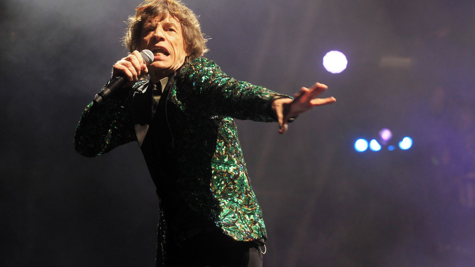 """Mick Jagger performs in 2013. The Rolling Stones will appear at the Cotton Bowl on Nov. 2, 2021, as part of their revised """"No Filter"""" tour, which was stricken from the calendar in 2020 because of the spread of COVID-19."""