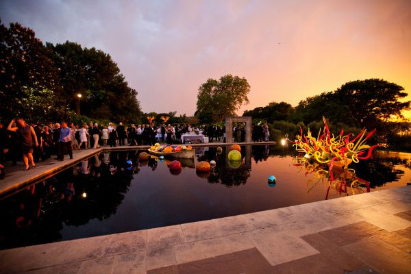 Dallas Arboretum celebra Mardi Grass esta semana.