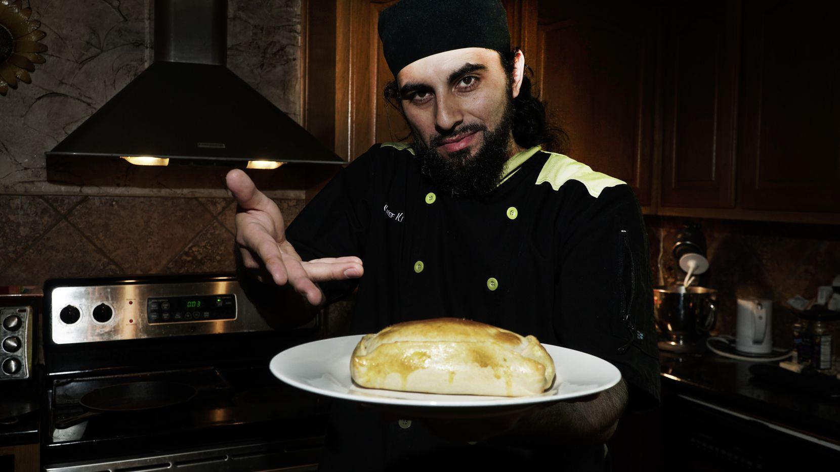 Julio Cordonnier es un chef de origen chileno que además es un músico hip hop.