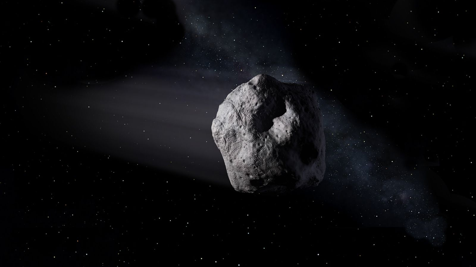 Imagen que representa el asteroide 1998 OR2