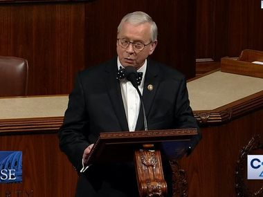 Rep. Ron Wright, R-Arlington, was reelected to a second term after battling lung cancer during the campaign.