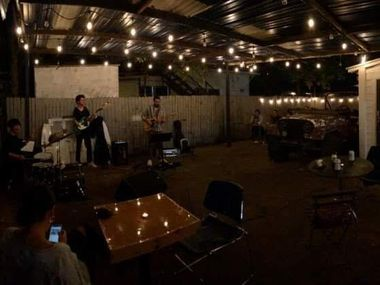 The Pepe Valdez Trio performed at the first Old Oak Cliff Music Sessions on 626 W. Davis St. Saturday Oct. 17.