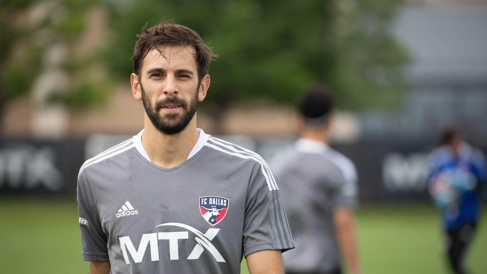 El mediocampista argentino Facundo Quignon ya entrena con el FC Dallas.