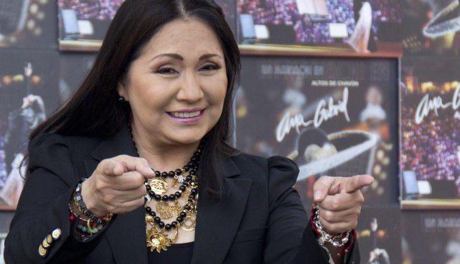 La cantante mexicana Ana Gabriel recibirá el premio Herencia Hispana. (AP/GABRIELA SÁNCHEZ)