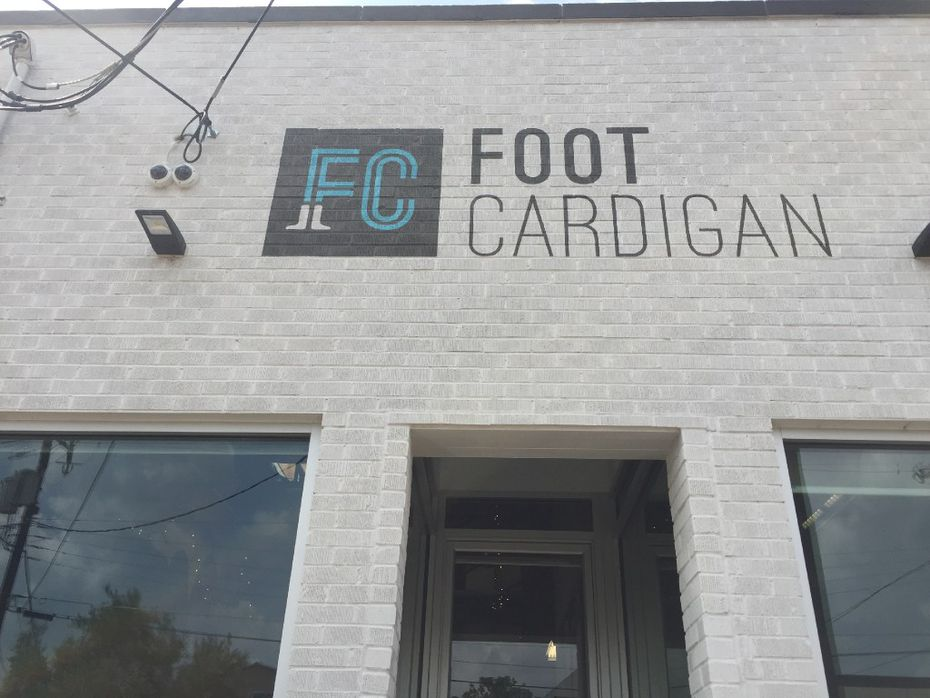 Foot Cardigan's headquarters is in Dallas' Design District.