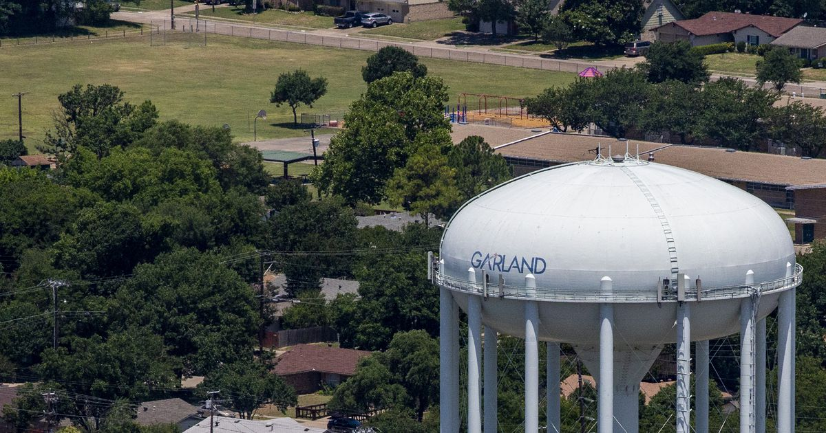 Garland working with residents after resuming utility collections