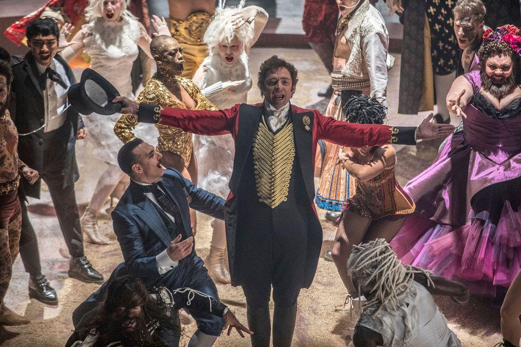 Hugh Jackman stars as P.T. Barnum in The Greatest Showman. (Niko Tavernise/20th Century Fox)