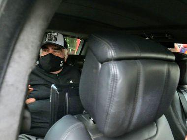 El cantante mexicano Vicente Fernández salió del hospital el 9 de julio de 2021, luego de estar internado por una infección en vías urinarias.