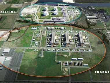 Energy Transfer will take over development of an LNG export terminal in Lake Charles, La. It already owns the existing import facility.