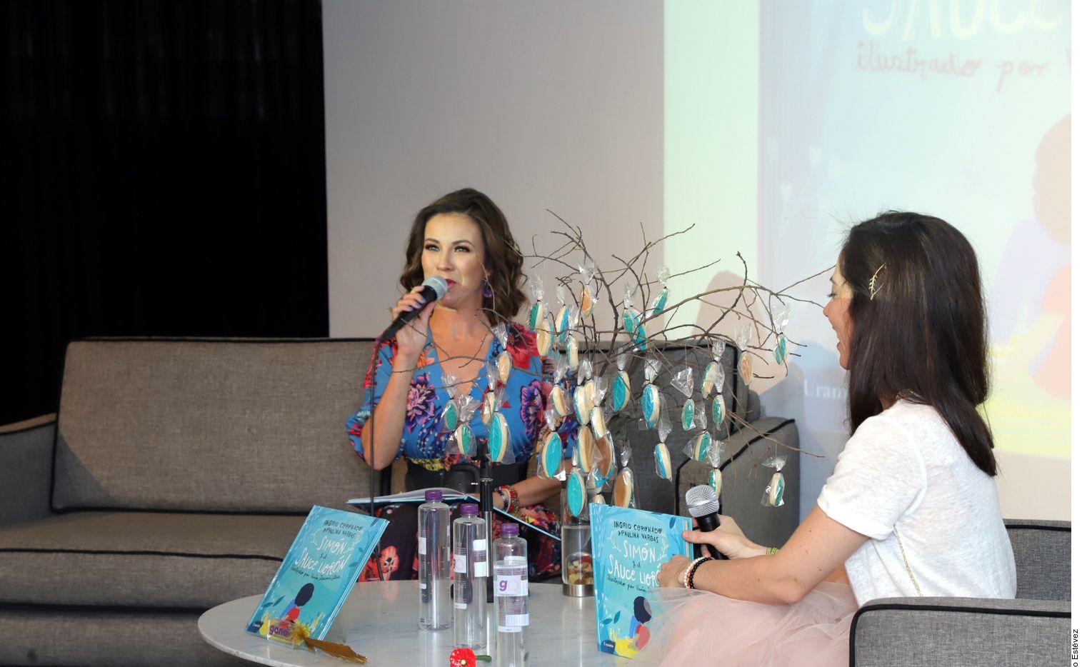 Una de las revelaciones para Ingrid Coronado (izq.) fue darse cuenta de que no había explotado su creatividad. AGENCIA REFORMA