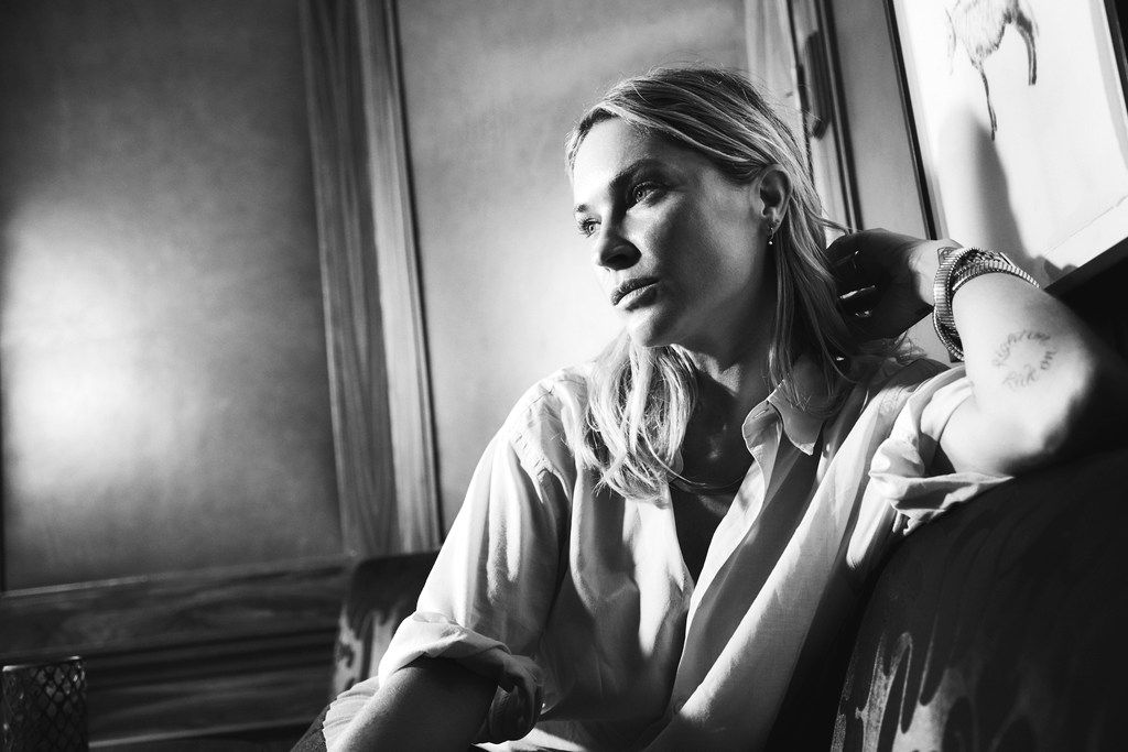 Irving-born model Erin Wasson, photographed exclusively forThe Dallas Morning News at Rosewood Mansion on Turtle Creek, in Dallas