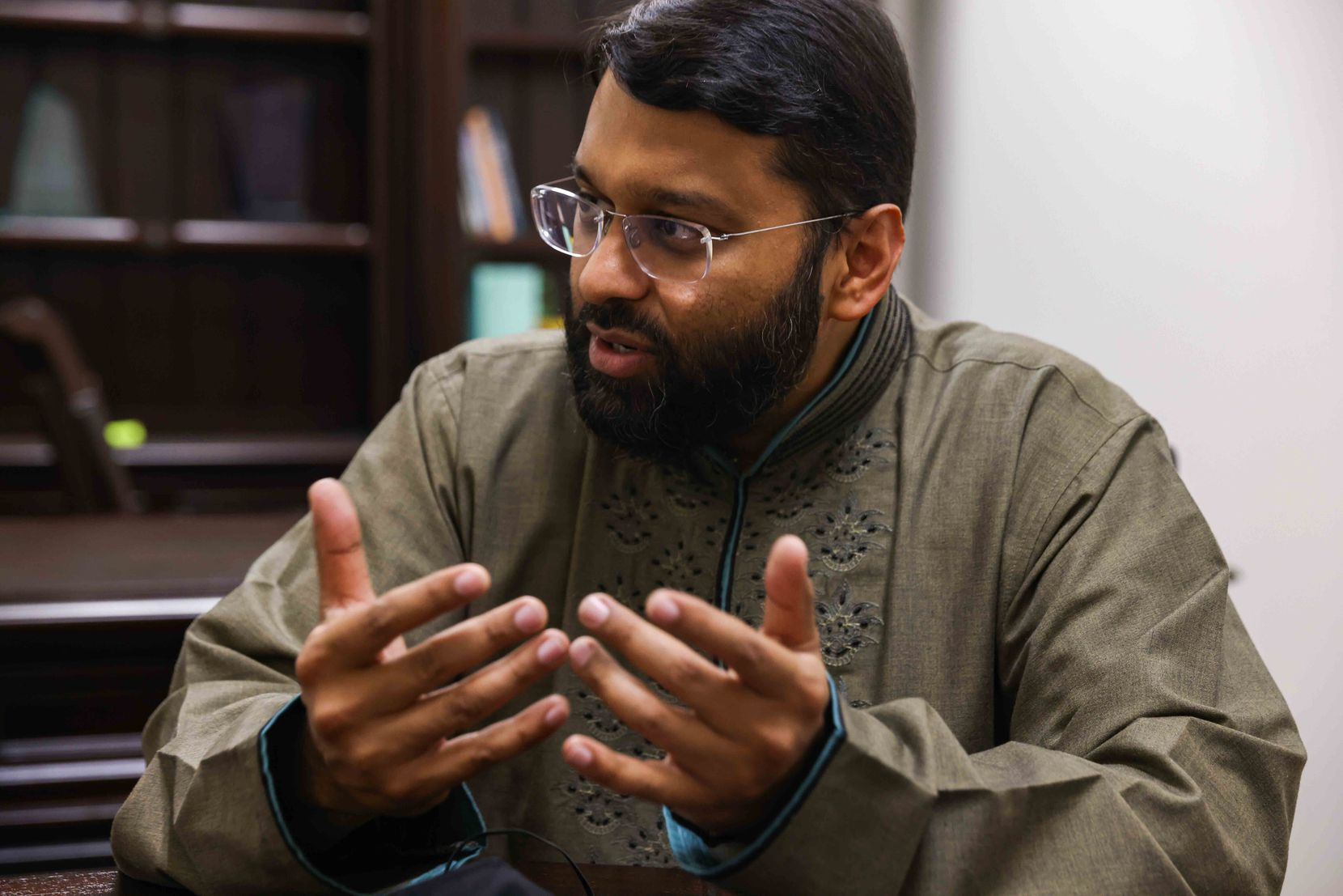 Yasir Qadhi, resident scholar at the East Plano Islamic Center, talks about post-9/11 Islamophobia and racism. The terrorist attacks helped spur many Muslims into political activism, he said.