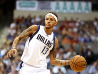 Dallas' Delonte West (13) is pictured during the Houston Rockets vs. Dallas Mavericks NBA preseason basketball game at the American Airlines Center in Dallas on Monday, October 15, 2012. (Louis DeLuca/The Dallas Morning News)