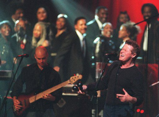 Don Henley performing at the Music Hall at Fair Park in 2000.