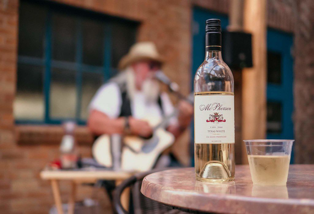 Bottle of McPherson Texas White from McPherson Cellars in Lubbock