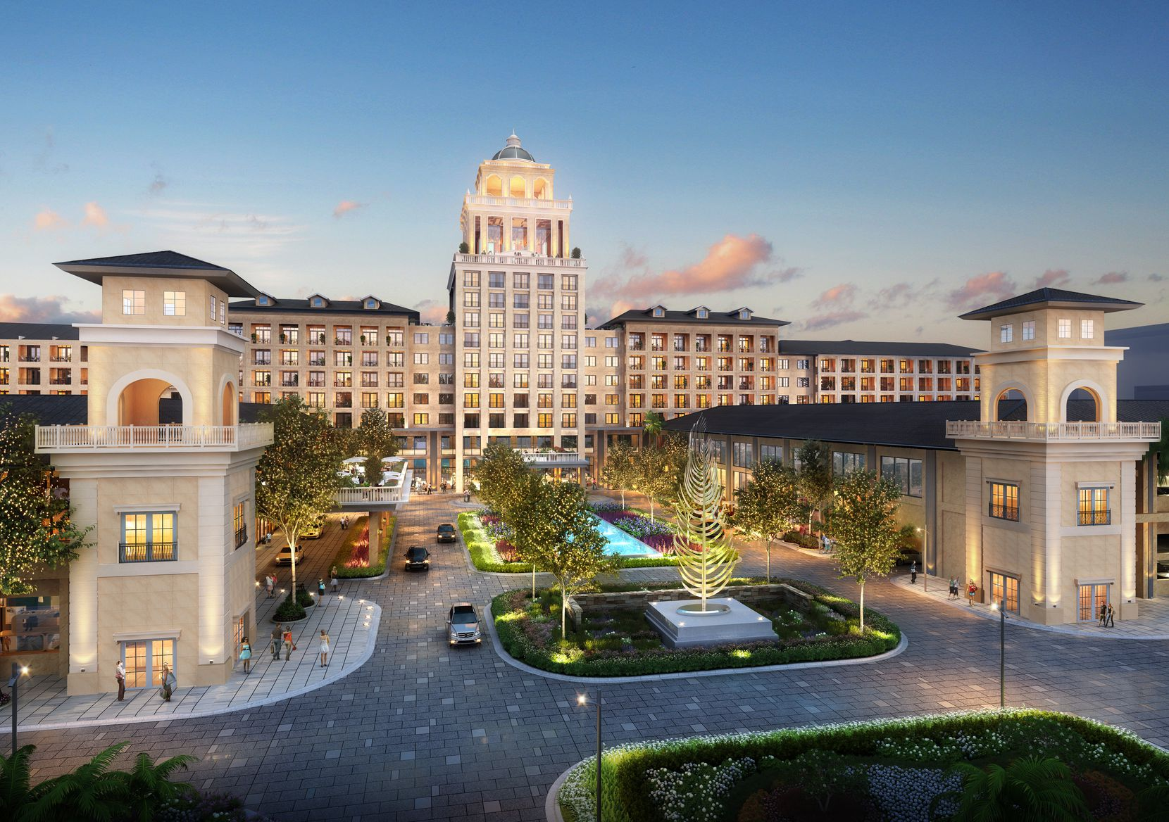 Construction is set to start later this year on the lakeside resort.