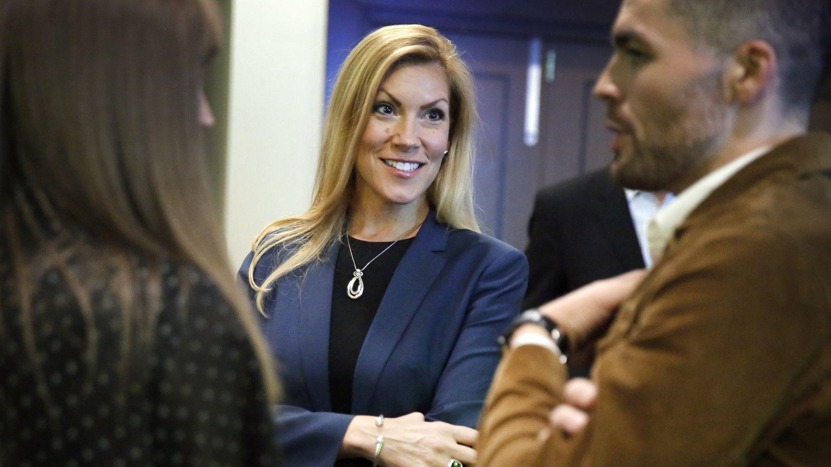 La republicana Beth Van Duyne aventajó a la candidata demócrata Candace Valenzuela por muy poco margen. La mayoría de sus votos los obtuvo en la parte del distrito 24 que corresponde al condado de Tarrant.