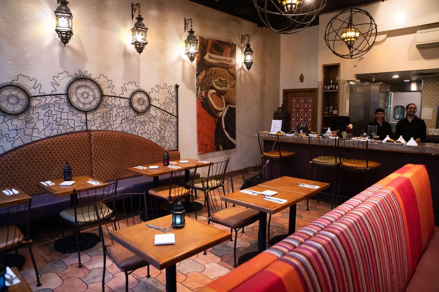 Medina Oven & Bar, a Moroccan-Mediterranean cuisine restaurant located in Victory Park in Dallas