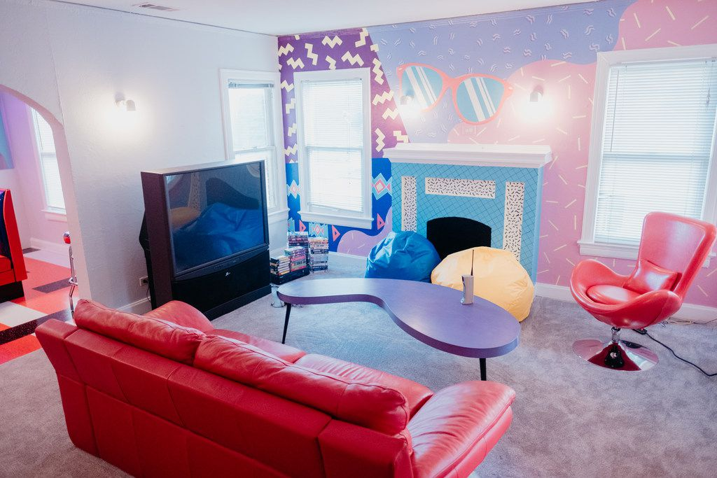 The Slater is a '90s-themed Airbnb that recently opened in Lower Greenville. SLATERSINGER