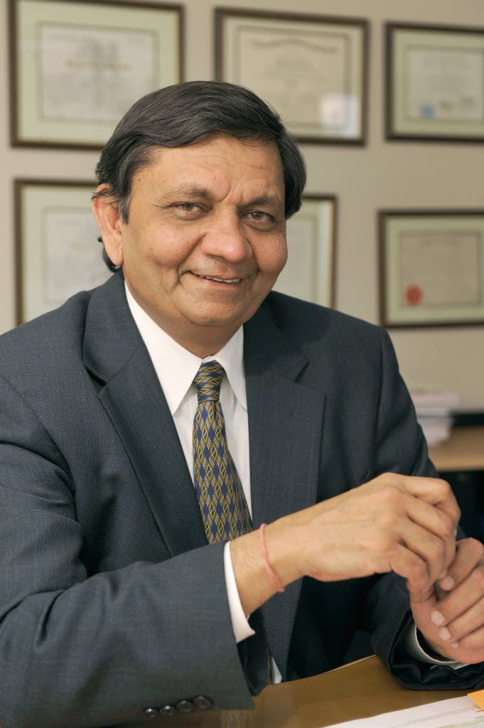 Dr. Madhukar Trivedi is director of the Center for Depression Research and Clinical Care at UT Southwestern. (UT Southwestern Medical Center)