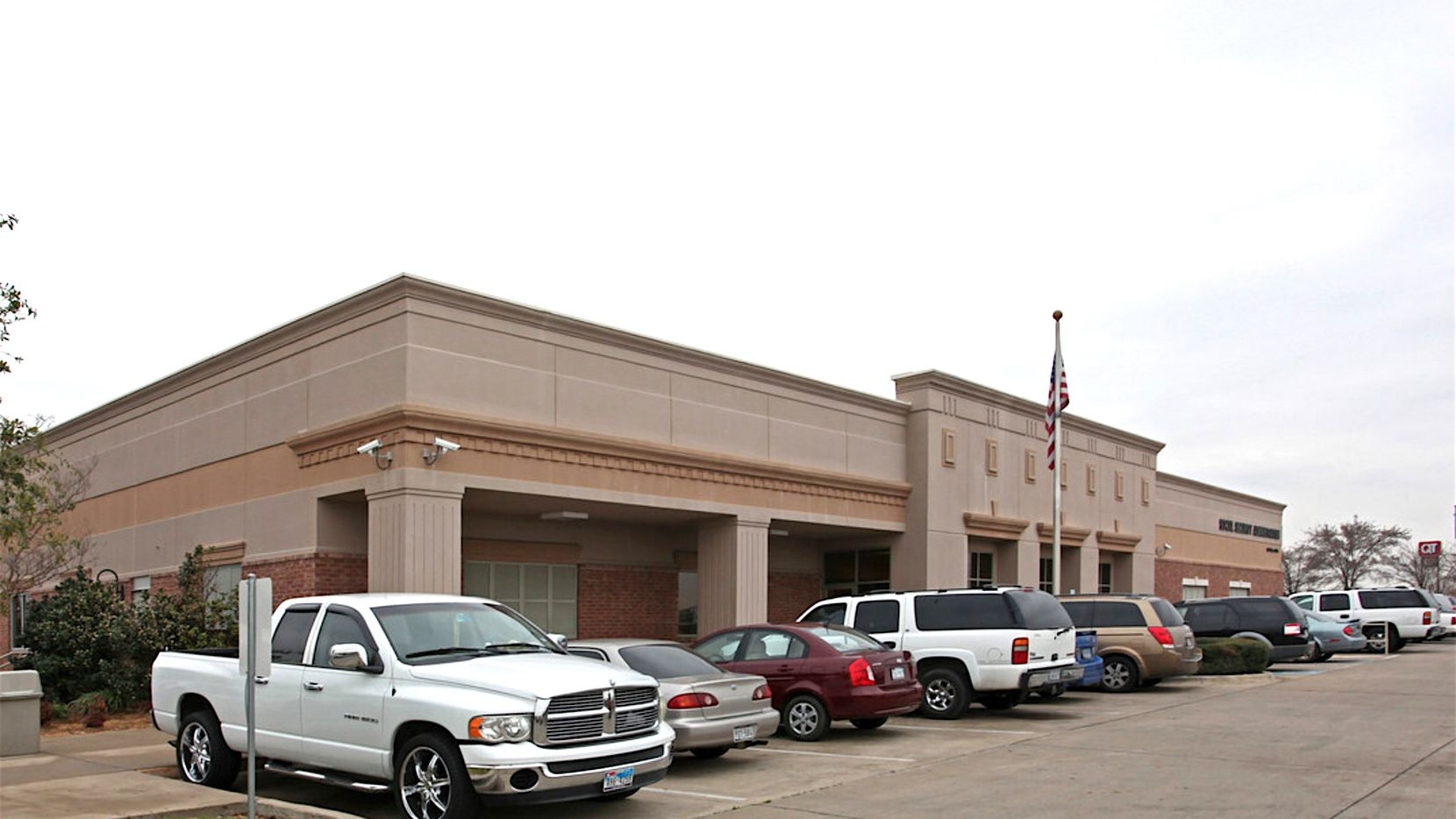 The Social Security office in Balch Springs was part of the sale.
