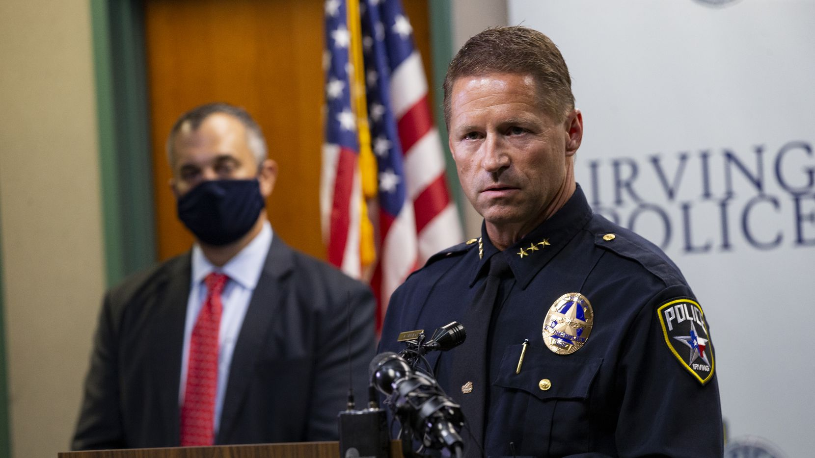Irving police Chief Jeff Spivey is among the seven finalists for the Dallas police chief job.