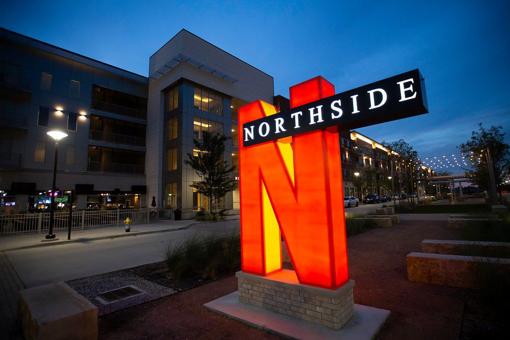 The Northside has retail and restaurants, but it is also a gated community with a game room, media room, swimming pool, 24-hour fitness center, dog park and clubhouse.