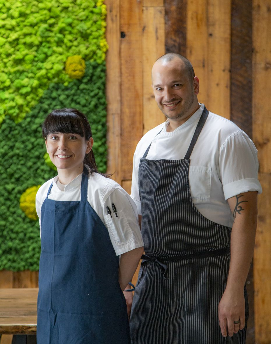 Chef-owners Amy and Casey La Rue are opening Carte Blanche in Dallas in mid-June 2021.