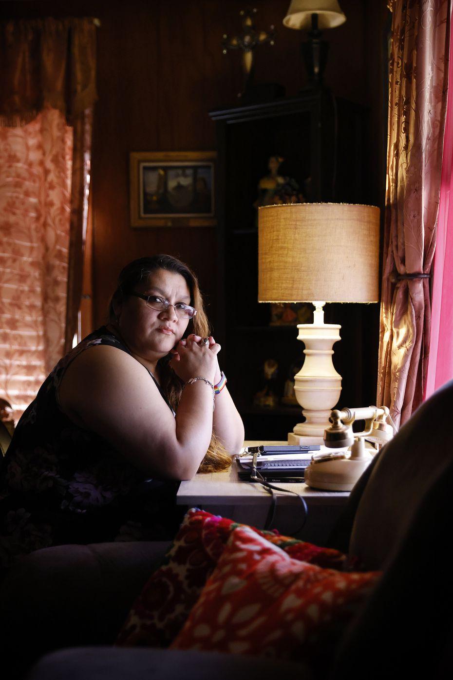 Mount Auburn resident Lisa Lopez, who lives on Wayne Street, has long been a schools and neighborhood advocate.