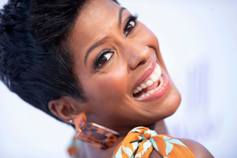 Tamron Hall, a native Texan, says she's a big fan of Uncle Julio's. She orders two beef enchiladas, refried beans and a margarita.