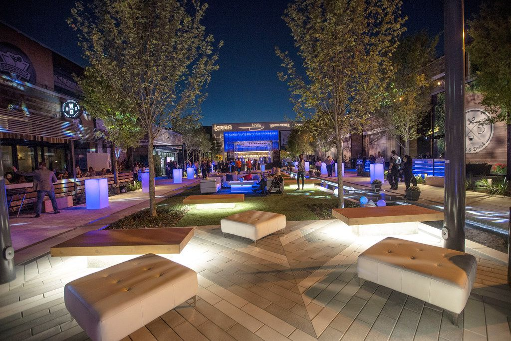 """On Oct. 4, 2018, the Shops at Willow Bend's """"The District"""" opened for a sneak peek charity event. Three of the restaurants are now open."""