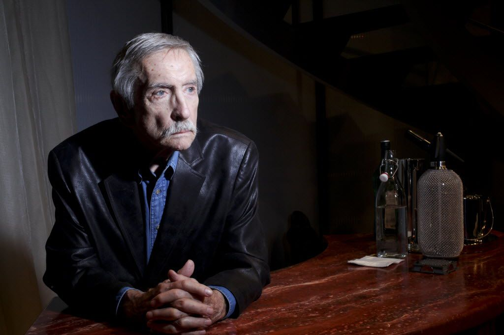 Edward Albee, a Pulitzer Prize winning playwright, at the Signature Theater Company in New York, March 1, 2012.